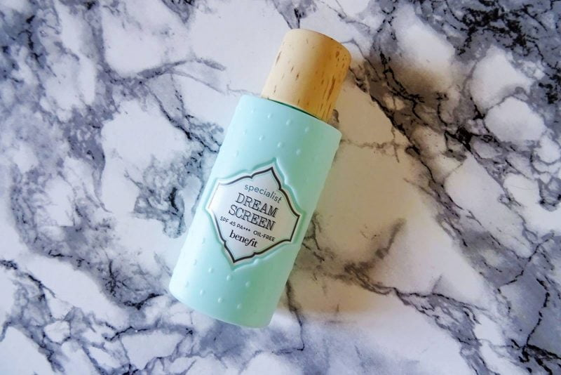 Benefit Dream Screen Broad Spectrum SPF 45 Review
