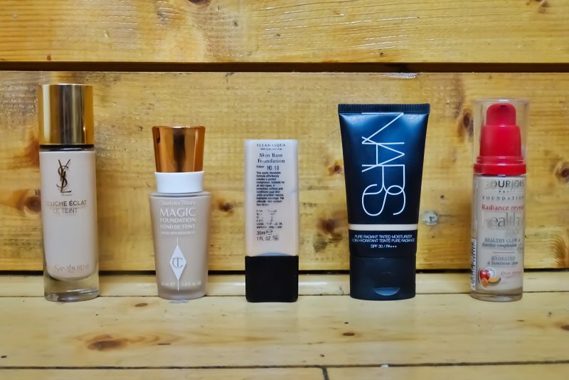 Top 5 Favourite Foundations!