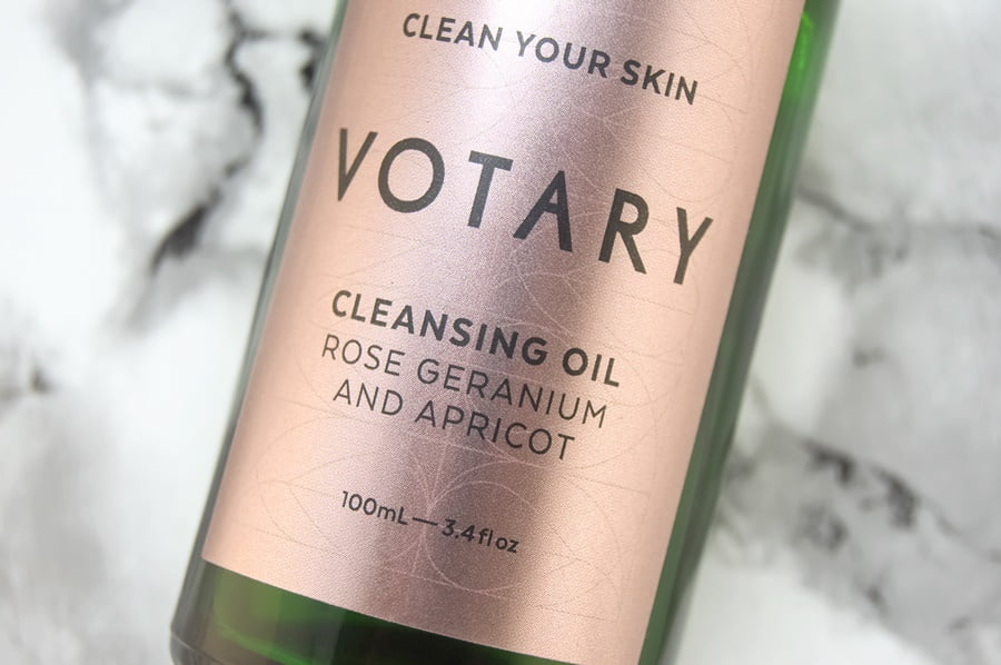 Votary Rose Geranium and Apricot Cleansing Oil Review