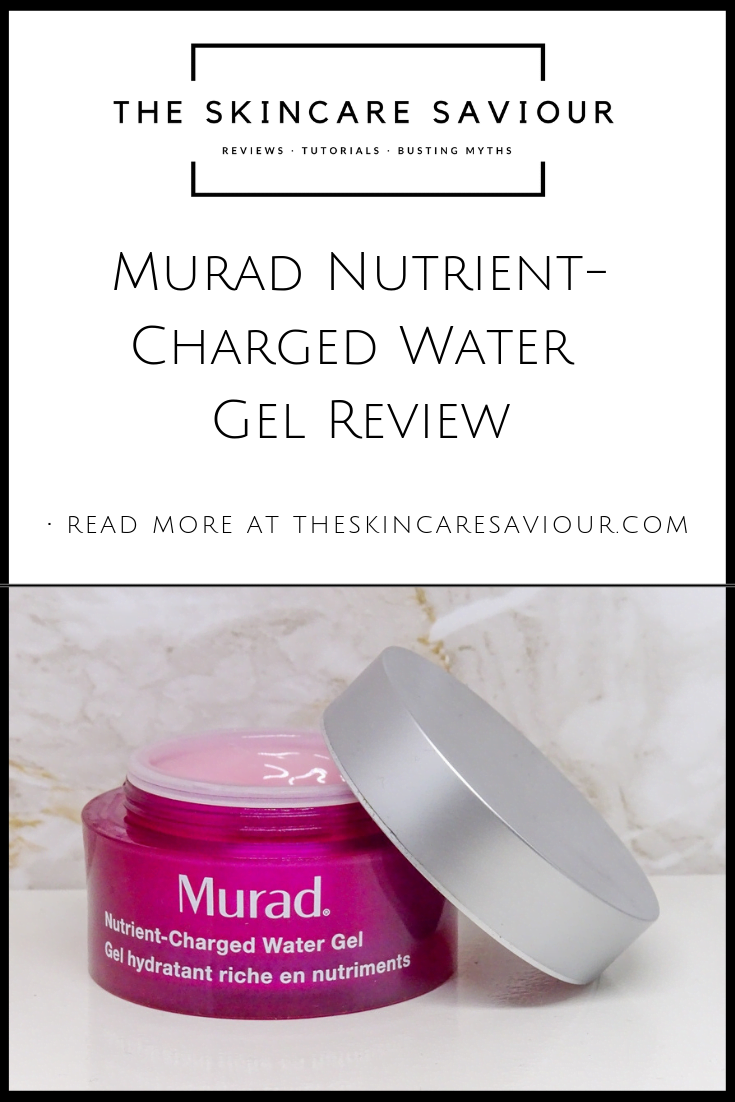 Murad Nutrient-Charged Water Gel Review