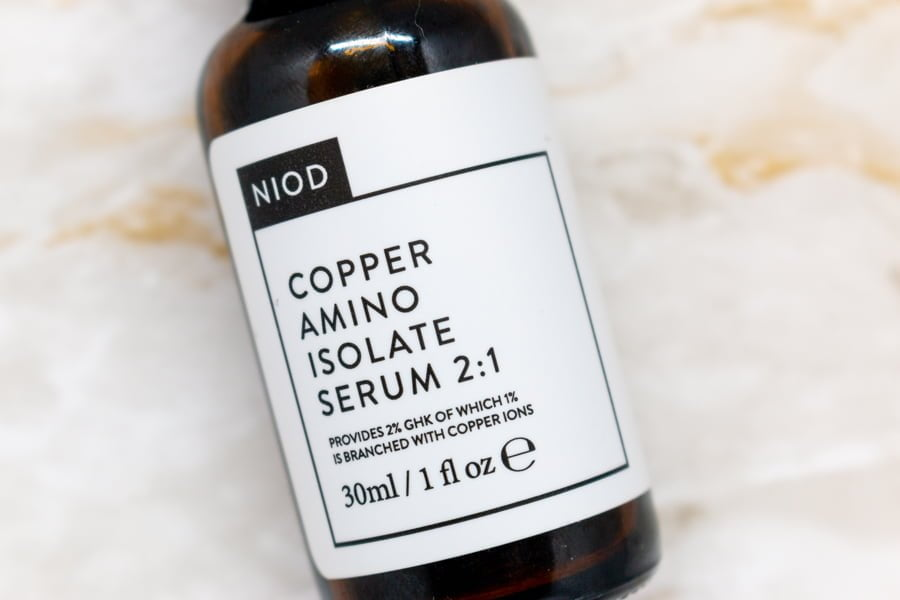 NIOD Copper Amino Isolate Serum Review