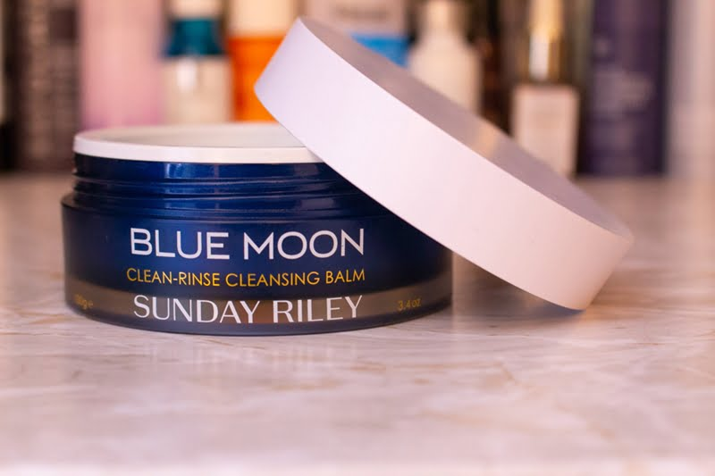 Sunday Riley Blue Moon Clean Rinse Cleansing Balm Review